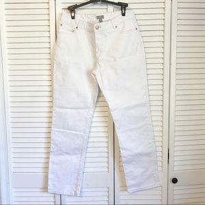 J Jill white jeans
